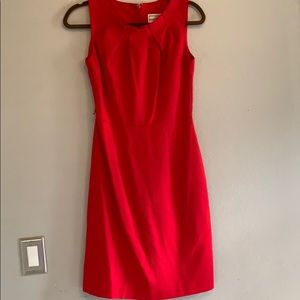 Red biz attire